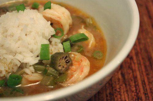 Shrimp and Okra Gumbo | Seafood | Pinterest