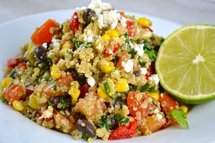 Southwest Quinoa Salad. Delicious and so easy to make. (Replace ...