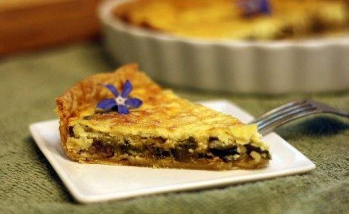 Zucchini and Mushroom Ricotta Tart | Recipes I MUST try... | Pinterest