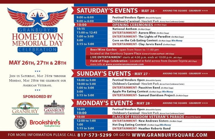 memorial day festivals in charlotte nc