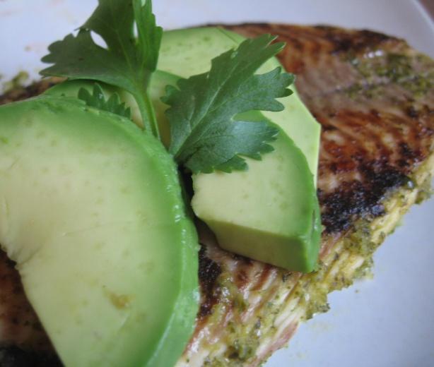 Crispy Chipotle Lime Tilapia With Cool Avocado Sauce Recipe ...