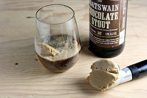 Beer Ice Cream! | Sweets and Treats | Pinterest