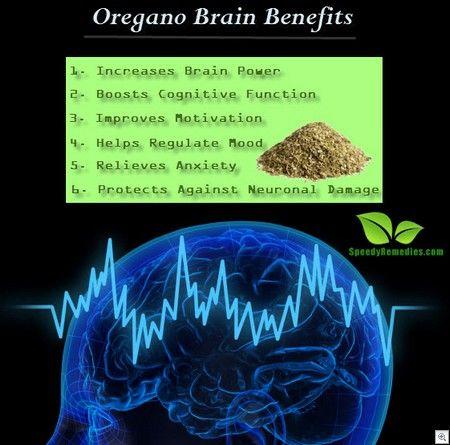 Oregano brain benefits
