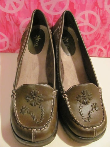 WOMENS BROWN WEDGE SHOES