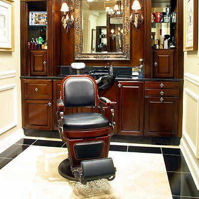 Barber Shop Furniture : barber chair Barber Shop Pinterest