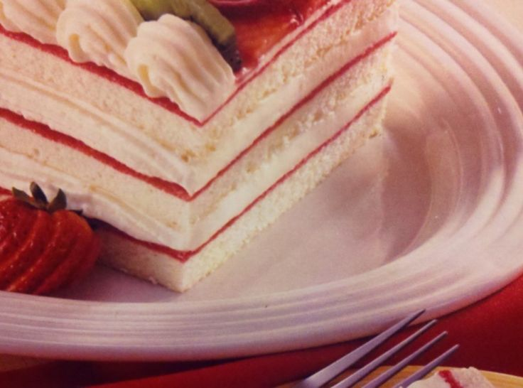 Strawberry Torte Cake Pampered Chef