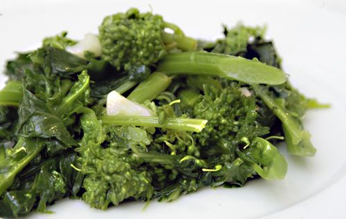 Broccoli Rabe with Oil & Garlic | Delectable Eats | Pinterest