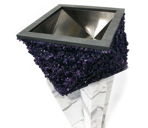 Amethyst Stone Sink : amethyst sink! Yes! REAL amethyst sinks Pinterest