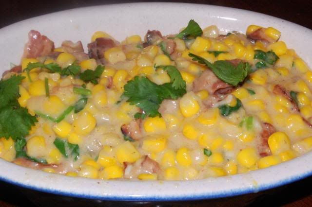 Creamed Corn with Bacon | Recipes | Pinterest