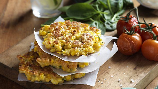Corn fritters | Food to make | Pinterest