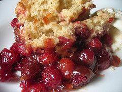 cranberry cobbler | scrumptious | Pinterest