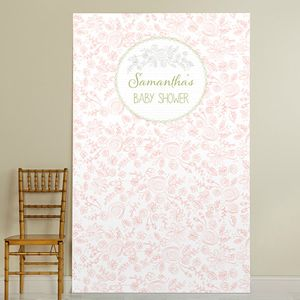 collections bridal shower custom backdrops