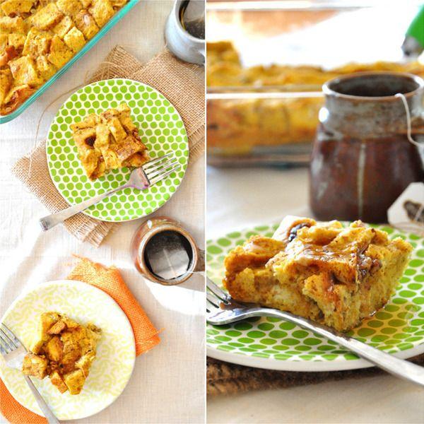Pumpkin French Toast Bake | HOLIDAYS | Pinterest