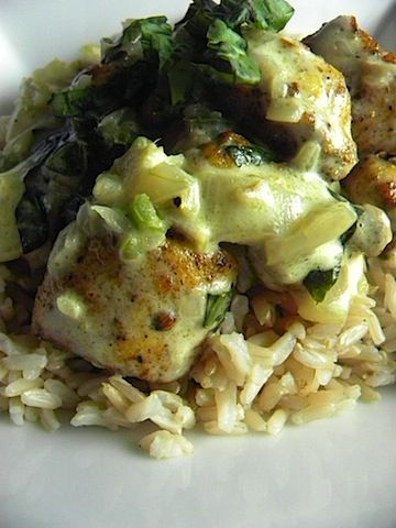 basil chicken in coconut curry sauce | tried and true recipes | Pinte ...