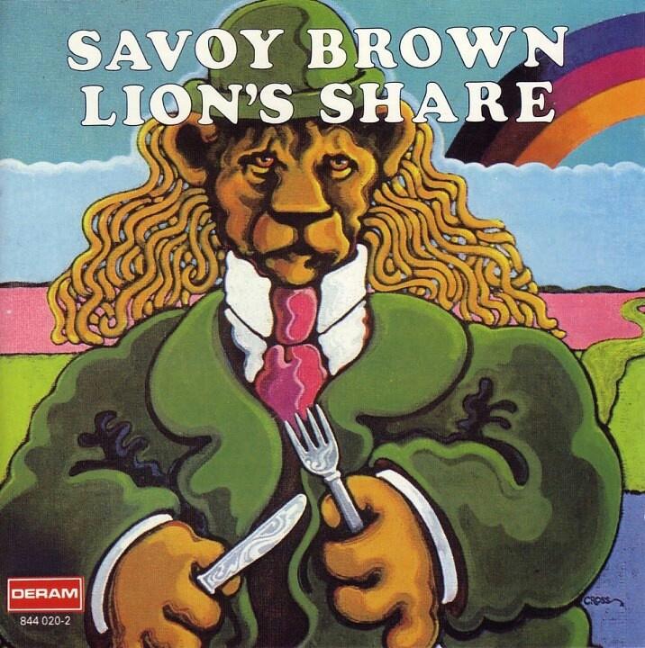 savoy brown lions share lyrics
