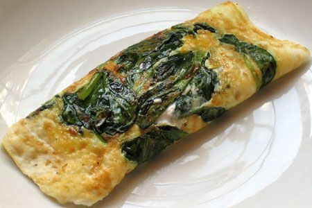 breakfast: egg white omelets with broccoli, spinach, mushrooms, tomato ...