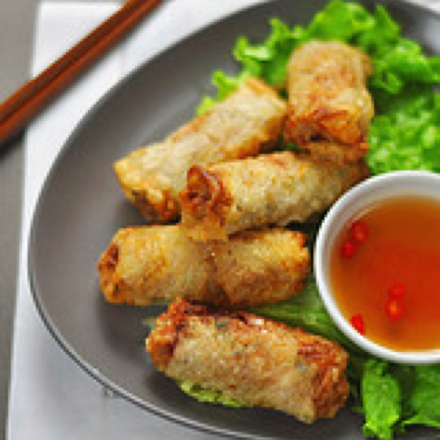 Vietnamese Spring Rolls (Cha Gio) Recipe — Dishmaps