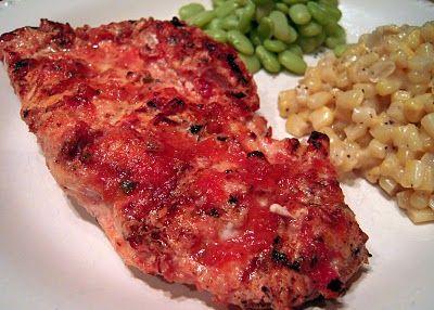 Grilled Salsa Chicken | Plain Chicken | Niya | Pinterest