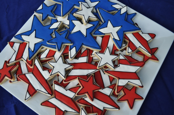 4th of july cookies for sale