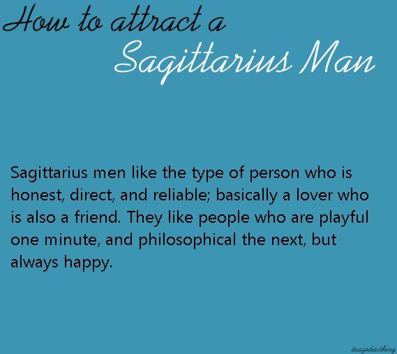 What is a sagittarius man like in love