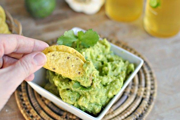 Roasted garlic guacamole dip | Apps/Snacks | Pinterest