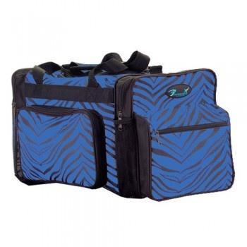 Royal Blue Zebra Dance Bag