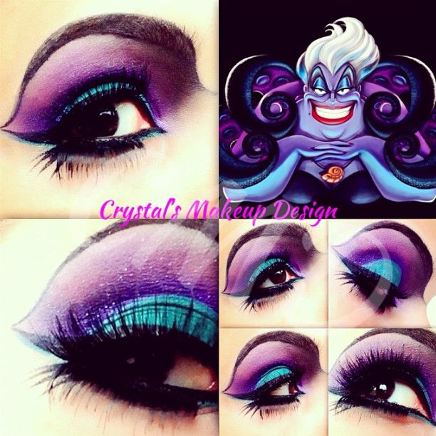 ursula makeup tutorial : Make Up and Hair : Pinterest