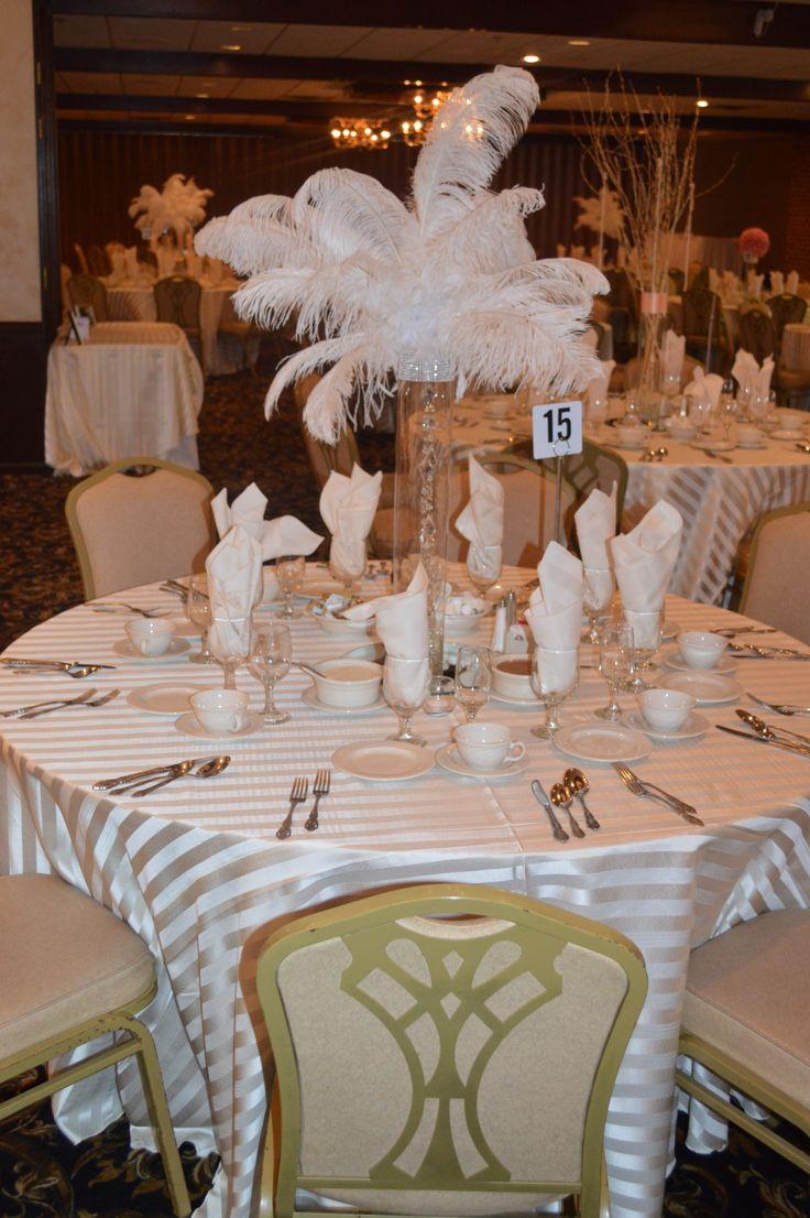 Great Gatsby Themed Wedding Reception