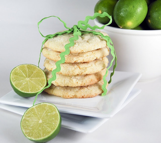 chewy coconut-lime sugar cookies | the sweet | Pinterest