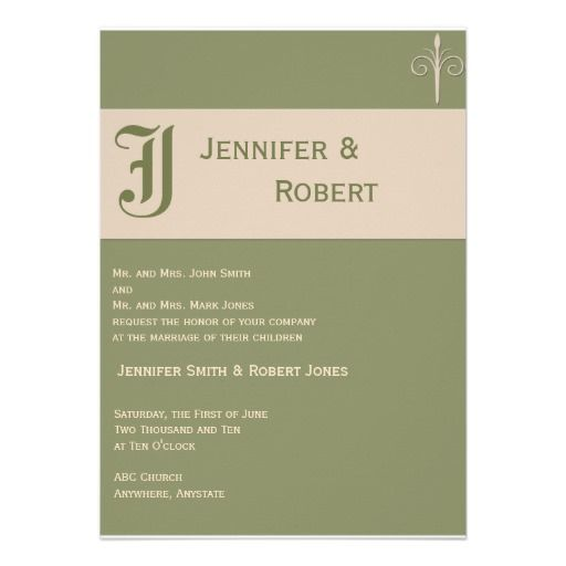 Champagne Wedding Invitations with awesome invitations layout