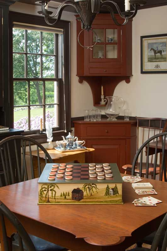 Windsor chairs | Colonial Style Decorating | Pinterest