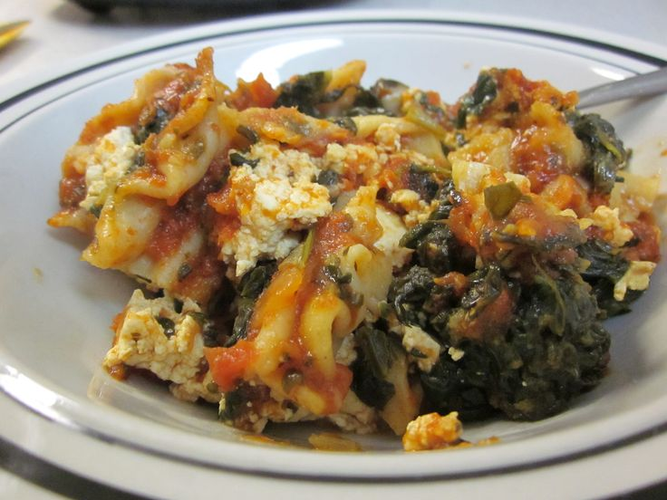 Vegetarian No Cheese Lasagna | Recipes for Brian :) | Pinterest