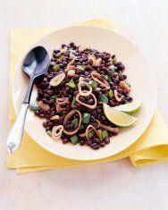Spicy Sweet Potato and Black Bean Tostadas | Recipe