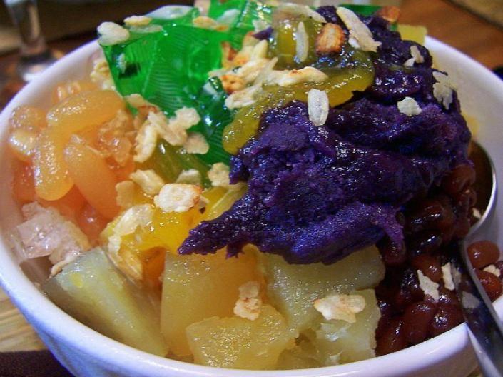 Filipino Food Halo Halo