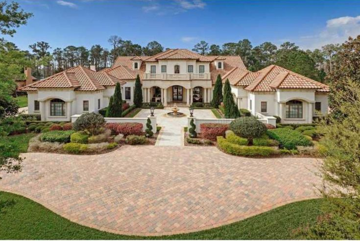 Mediterranean Mansion Orlando Florida Dream Homes Pinterest
