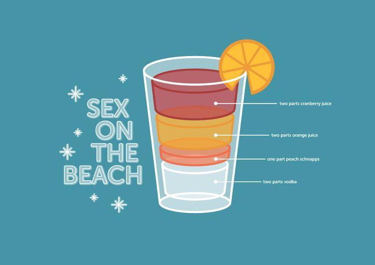 Sex on beach drink