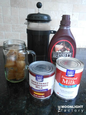 Mexican Iced Coffee; The Moonlight Factory