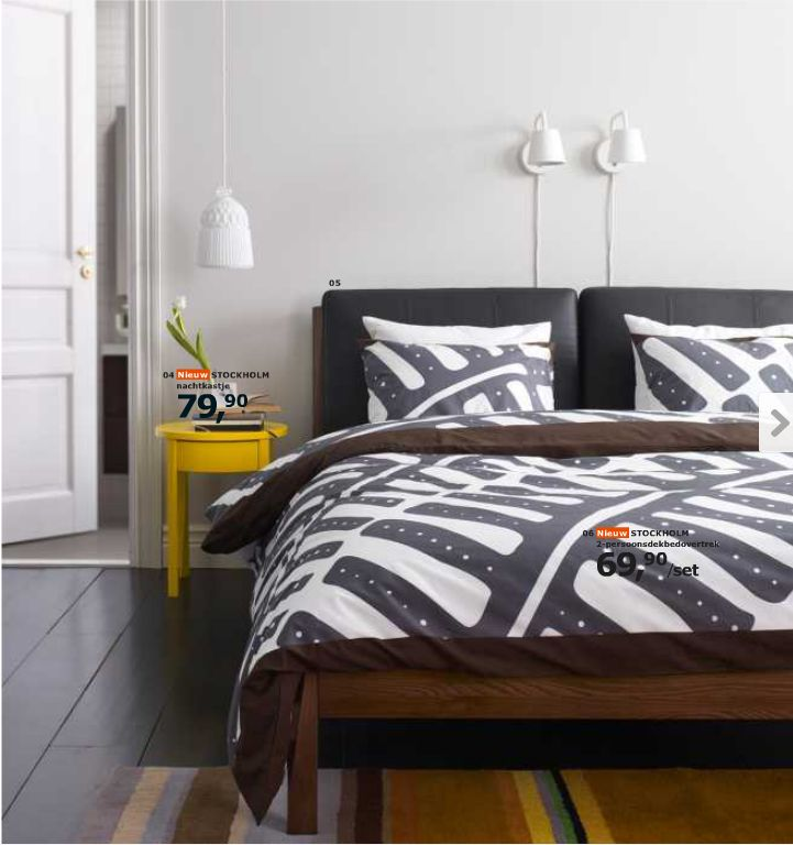ikea stockholm bed frame bedroom pinterest. Black Bedroom Furniture Sets. Home Design Ideas