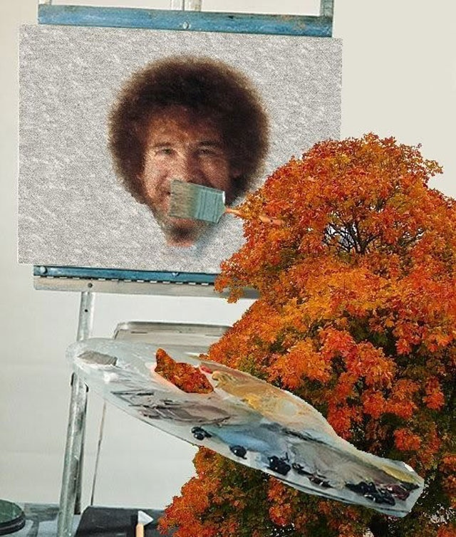Bob Ross Parallel Universe