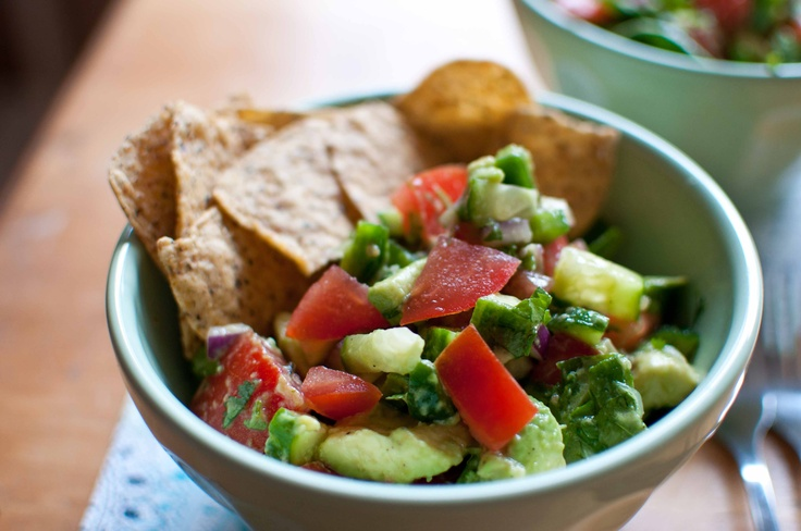 Avocado and spinach salad | Daniel Fast Or Vegan Recipes | Pinterest