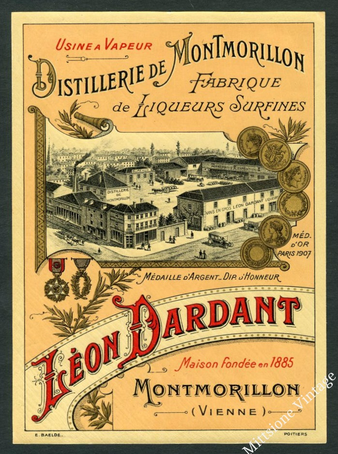 Vintage French Alcohol   Vintage French Wine Labels
