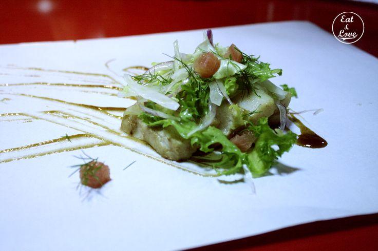 Tataki de pez mantequilla - Streetxo, restaurante, street food, Madrid