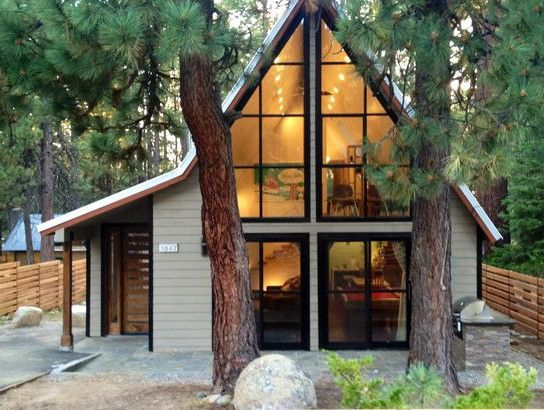 A frame lake tahoe home favorite homes pinterest for A frame lake house