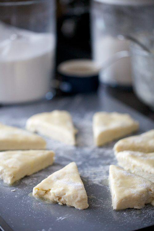 perfect cream tea - homemade cream scones and clotted cream; remember ...