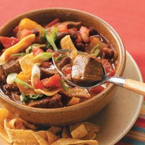 Colorado Lamb Chili Recipe   Taste of Home Recipes