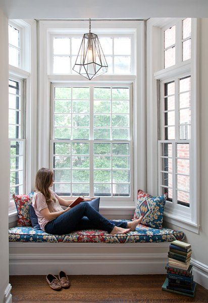 Creating an escape at home reading nooks Window seat house
