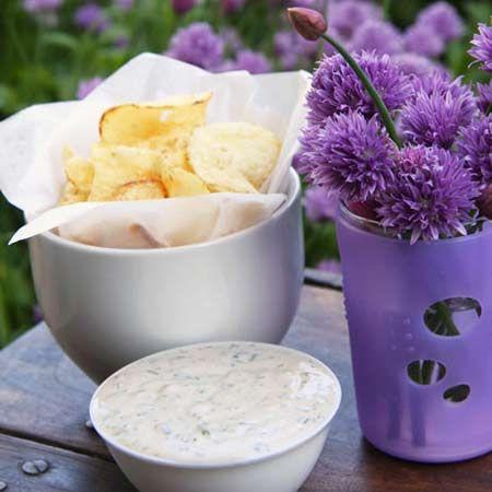 Green Goddess Chip Dip | Food | Pinterest