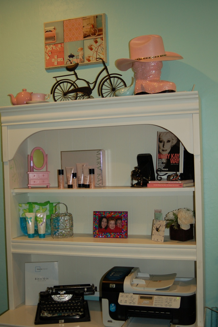 The Mary Kay zone my organizer/designer helped me with. My inventory