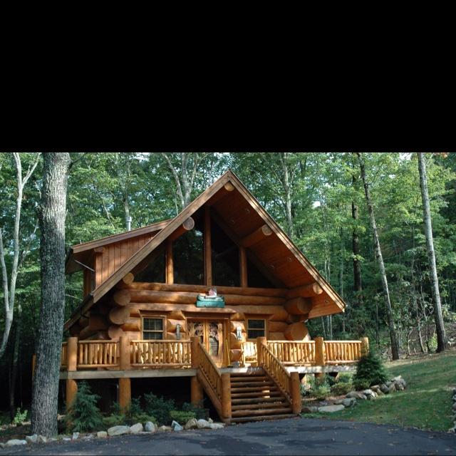 Beautiful Log Cabin Log Cabin Pinterest