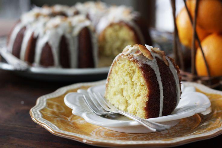 Glazed Orange Coconut Cake | Recipe